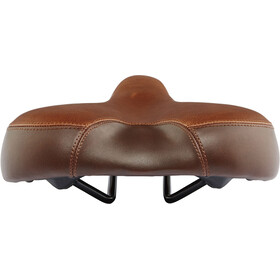 Red Cycling Products City Comfort Plus Saddle brown